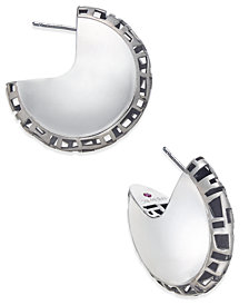 The Fifth Season by Roberto Coin Sterling Silver Hoop Earrings 7771119SBER0