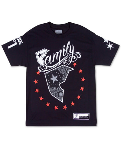 Famous Stars and Straps Men's Wild American Patriot T-Shirt