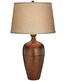Pacific Coast Hammered Metal Tall Zarah Table Lamp