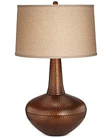 Pacific Coast Hammered Metal Zarah Table Lamp