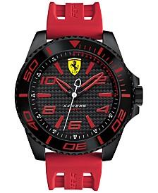 Scuderia Ferrari Men's XX Kers Red Silicone Strap Watch 50mm 830308