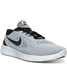 Nike Big Boys'   Free Run Running Sneakers from Finish Line