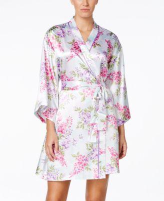 comfy satin robe