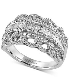 Classique by EFFY Diamond Ring (1 ct. t.w.) in 14k White Gold