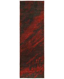 "Oriental Weavers Sedona 6367B 2'3"" x 7'6"" Runner Rug"