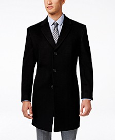 Raburn Wool-Blend Over Coat Slim-Fit