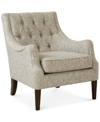Glenis Tufted Accent Chair, Quick Ship. Furniture