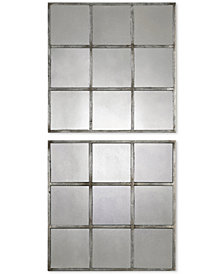 Uttermost 2-Pc. Derowen Square Mirrors