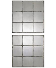 Uttermost 2-Pc. Derowen Square Mirrors