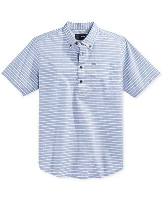 Men'S Half Button Down Shirt | Artee Shirt