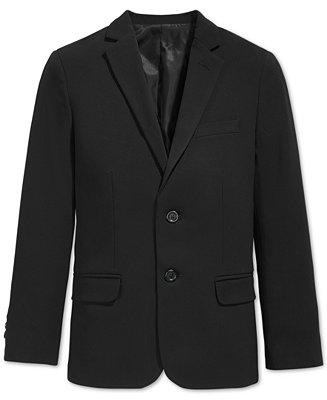 Calvin Klein Bi Stretch Suit Jacket Big Boys Coats