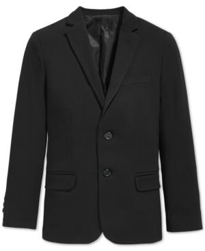 Calvin Klein BiStretch Suit Jacket Big Boys Husky (820)