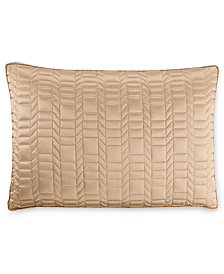 Hotel Collection Onyx Quilted King Sham, Created for Macy's