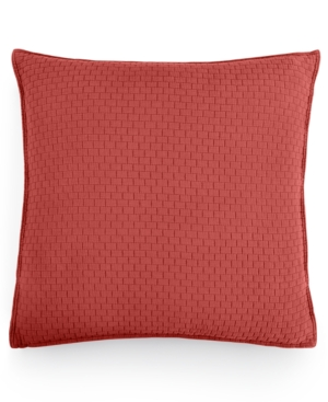 Hotel Collection Modern Geo Stripe Quilted European Sham Created for Macys Bedding