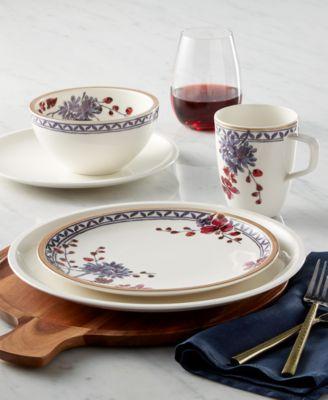 Artesano Provencal Lavender Collection Porcelain Pickle Dish