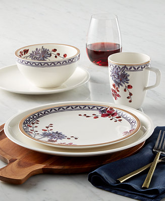 villeroy boch artesano provencal lavender collection dinnerware dining entertaining macy 39 s. Black Bedroom Furniture Sets. Home Design Ideas