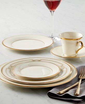 This item is part of the Lenox Eternal Collection & Lenox Eternal Dinner Plate - Fine China - Macyu0027s