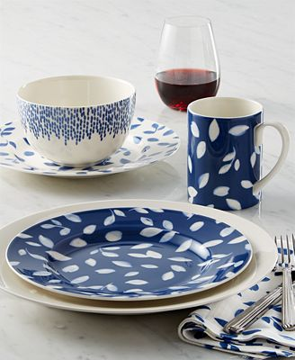 Martha Stewart Collection Stockholm Dinnerware Mix & Match Collection, Created for Macy's