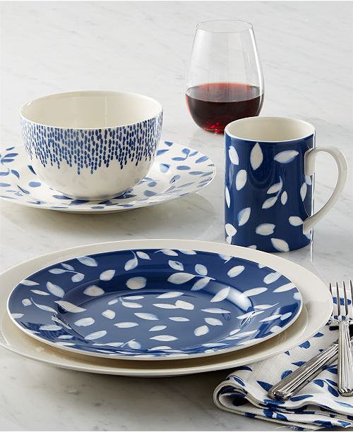 Martha Stewart Collection CLOSEOUT! Stockholm Dinnerware Mix & Match Collection, Created for Macy's