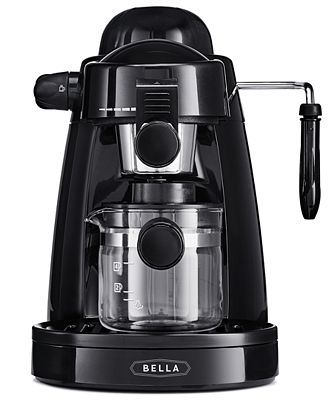 bella coffee maker 13683 steam espresso maker coffee tea amp espresso 13046