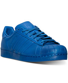 adidas Men's Superstar Mono Casual Sneakers from Finish Line