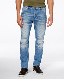 G-Star Men's 5620 Slim Fit Deconstructed Stretch Jeans, Created for Macy's