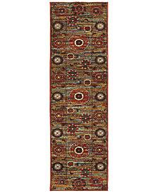 "Oriental Weavers Sedona 6408K 2'3"" x 7'6"" Runner Rug"