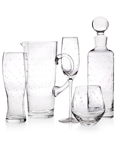 kate spade new york Larabee Dot Sets Stemware Collection