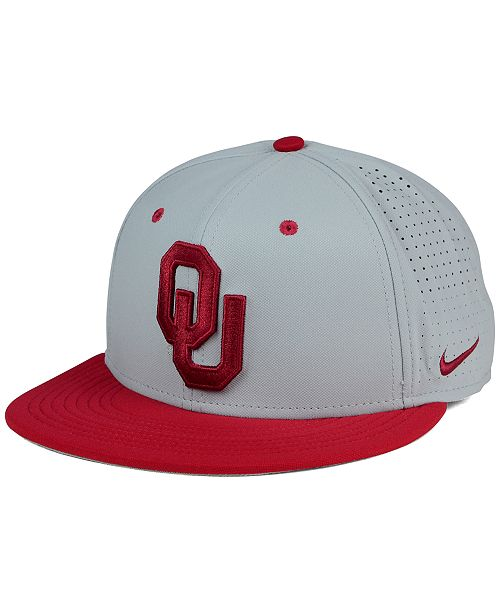 b861636d2c66fd Nike Oklahoma Sooners True Vapor Fitted Cap & Reviews - Sports Fan ...
