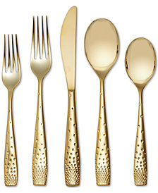 Nambé Dazzle Gold 5-Piece Place Setting