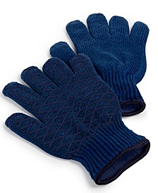 Set of 2 Heat-Resistant Grilling Gloves, Created for Macy's