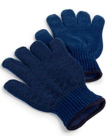 Martha Stewart Collection Set of 2 Heat-Resistant Grilling Gloves, Created for Macy's