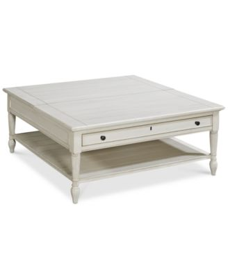 Sag Harbor White Lift Top Coffee Table