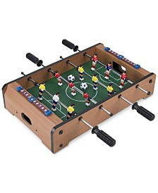 "Mini Table Top Foosball Set, 3.5"" x 12.25"" x 20.25"""