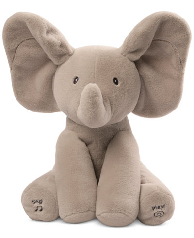 Gund 174 Flappy The Elephant Musical Stuffed Toy Toys