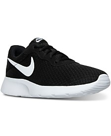 purchase cheap d3731 83d04 Nike Womens Tanjun Casual Sneakers from Finish Line