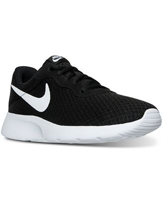 Nike Women S Tanjun Casual Sneakers From Finish Line