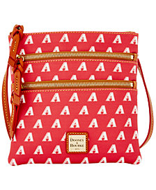 Dooney & Bourke Arizona Diamondbacks Triple Zip Crossbody Bag