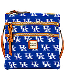 Dooney & Bourke Kentucky Wildcats Triple Zip Crossbody Bag