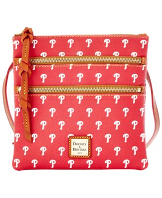 Philadelphia Phillies Triple Zip Crossbody Bag