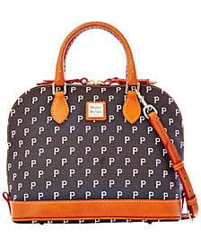 Dooney & Bourke Pittsburgh Pirates Zip Zip Satchel