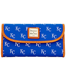Dooney & Bourke Kansas City Royals Large Continental Clutch
