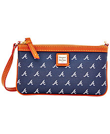 Dooney & Bourke Atlanta Braves Large Slim Wristlet