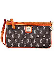 Dooney & Bourke Seattle Mariners Large Slim Wristlet