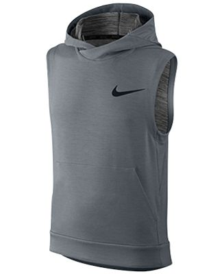 Nike Boys' Dri-FIT Sleeveless Hoodie - Coats & Jackets - Kids ...