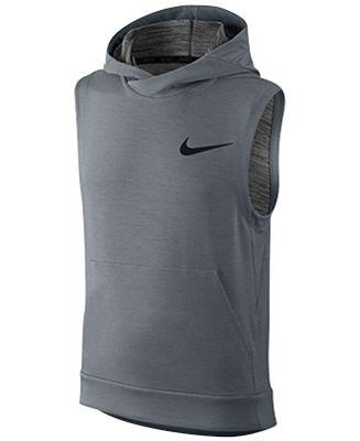 Nike Boys' Dri-FIT Sleeveless Hoodie - Coats & Jackets - Kids ...