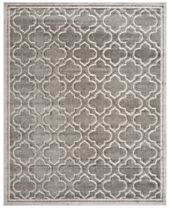 CLOSEOUT! Safavieh Amherst Indoor/Outdoor AMT412C Grey/Light Grey Area Rugs