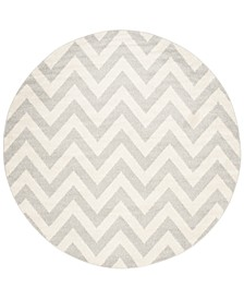Amherst Indoor/Outdoor AMT419 5' x 5' Round Area Rug