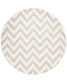 Safavieh Amherst Indoor/Outdoor AMT419 5' x 5' Round Area Rug