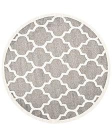 Safavieh Amherst Indoor/Outdoor AMT420 5' x 5' Round Area Rug